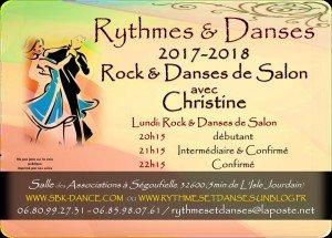 Flyer S+®goufielle 2017-2018 - Danses de Salon - format A6 (2)